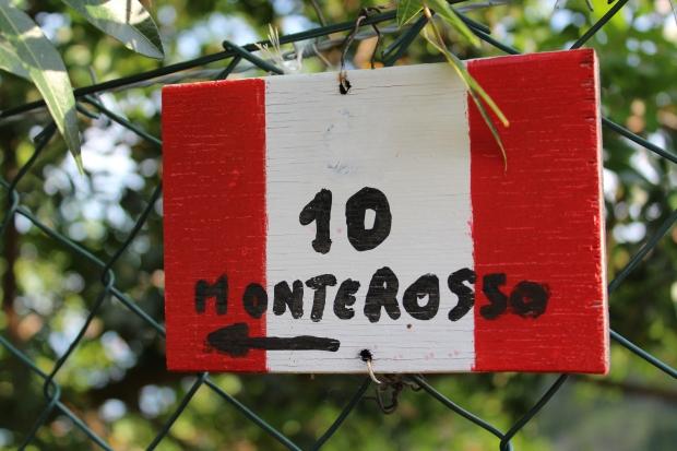 Wanderweg nach Monterosso