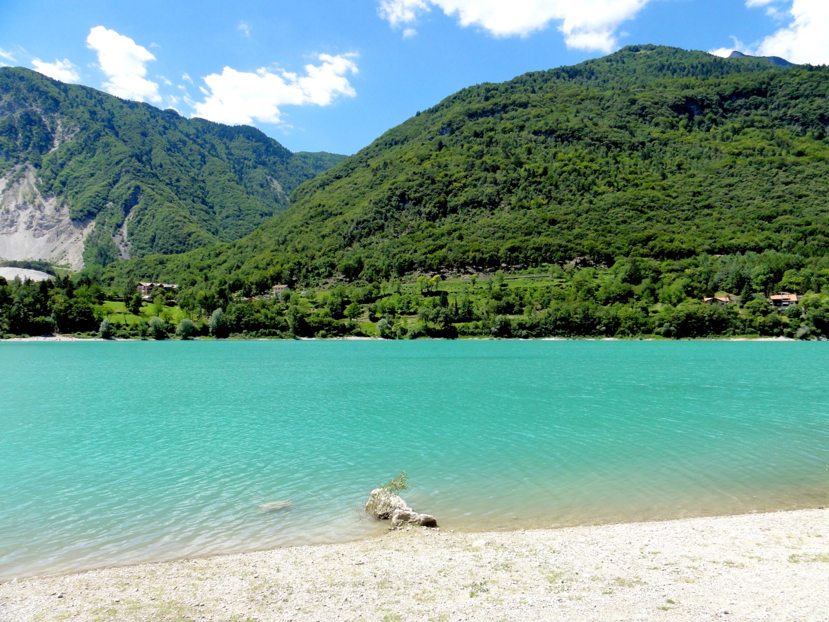 Lago di Tenno: Türkis bis Himmelblau
