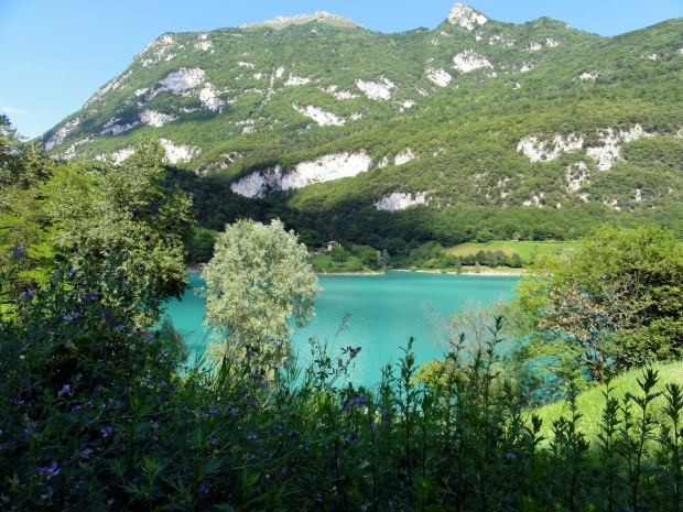 Türkisblau: Lago die Tenno