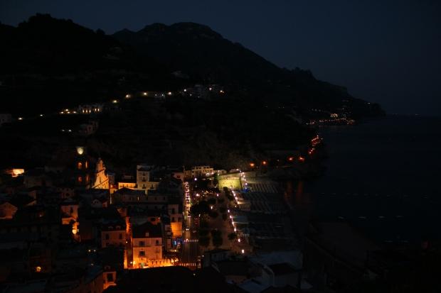 Minori bei Nacht