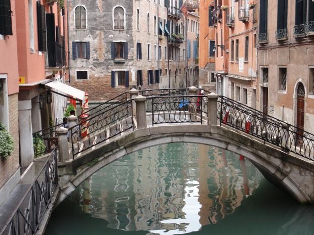 Bücke in Venedig