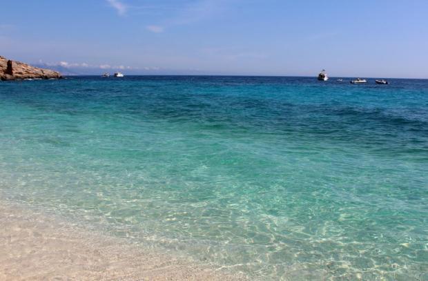 Strand von Cala Gabbiani