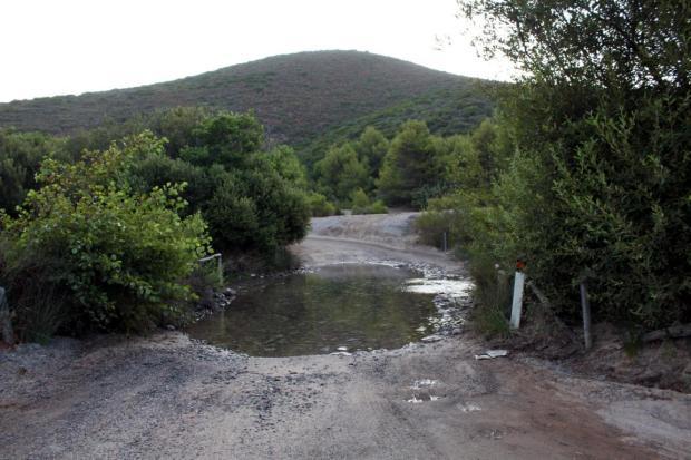 Flußdurchfahrt