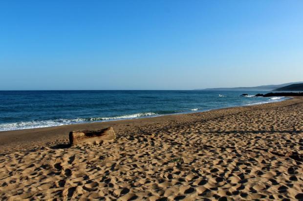 Strand der Costa Verde